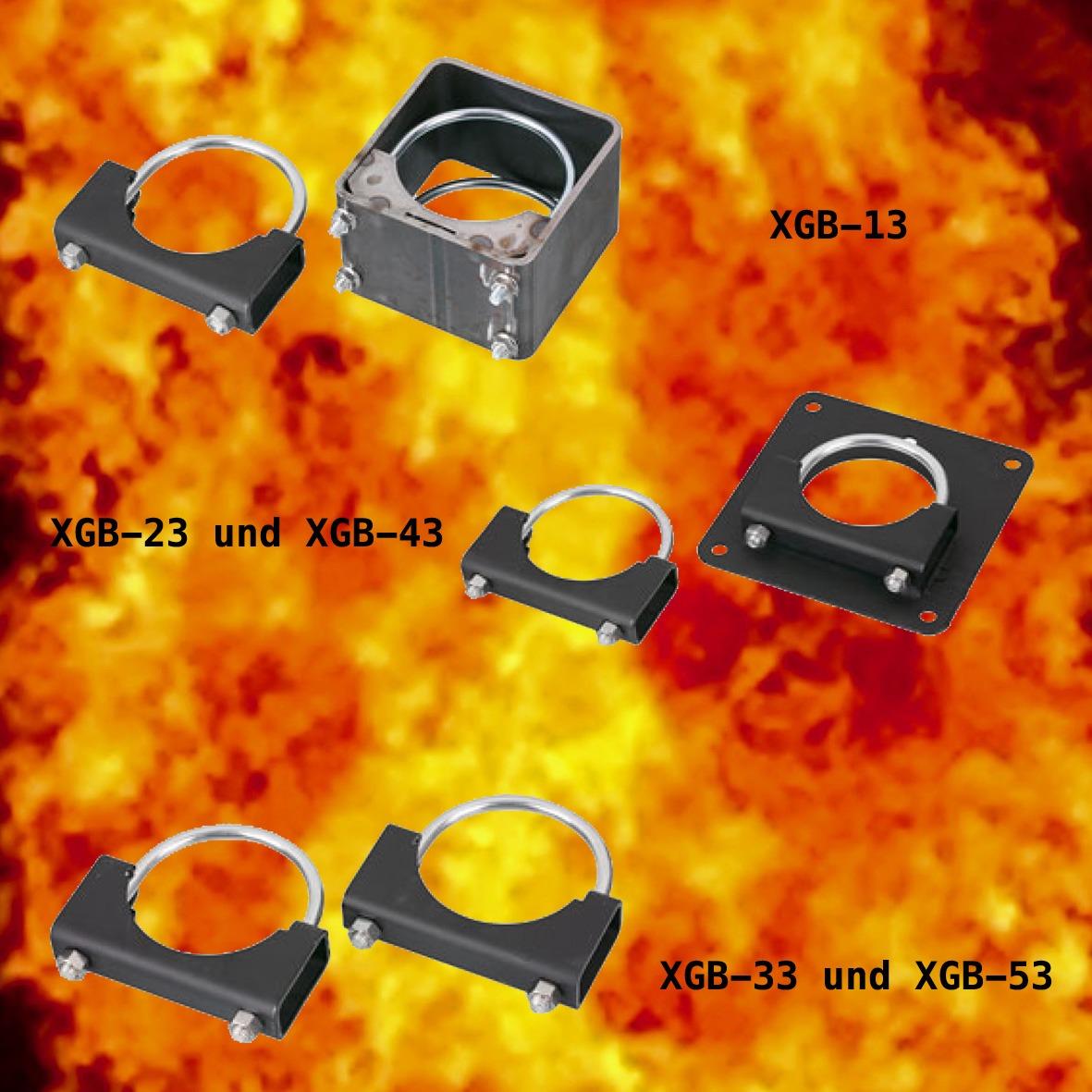 Halterungen für Extend-a-gun Teleskoprohr