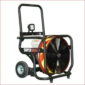 Hochleistungslüftermit Verbrennungsmotor Supervac Valor V18-GX