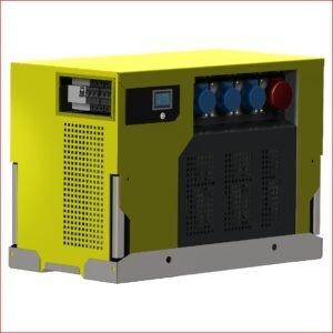 Hybrid-Stromerzeuger Boxhy 3 kVA mit Brennstoffzelle und Akku