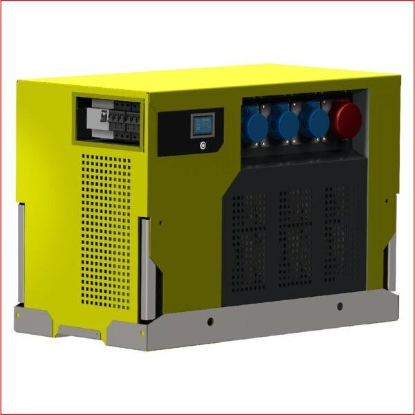 Hybrid-Stromerzeuger BOXHY 8 kVA mit Brennstoffzelle und Akku