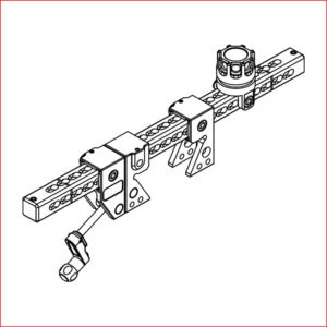 Klemme für I-Träger HPM-A - Befestigung für Hemisphere Wasserwerfer
