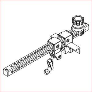 Klemme für Tanköffnung - Befestigung für Hemisphere Wasserwerfer